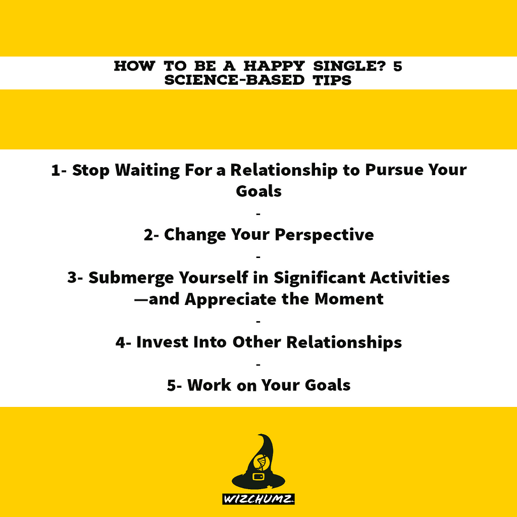 How to be a happy single? 5 science-based tips
